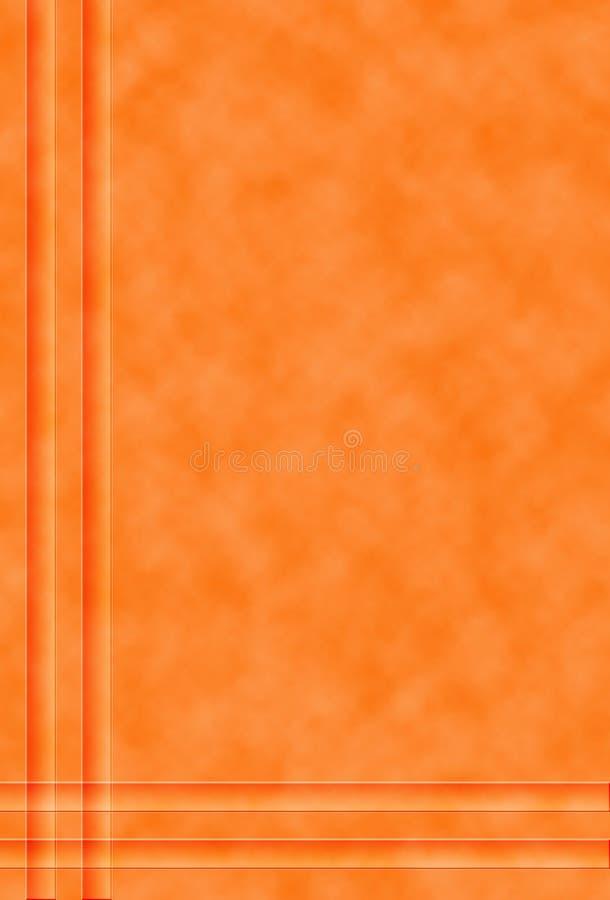 Gevormde oranje achtergrond royalty-vrije stock afbeelding