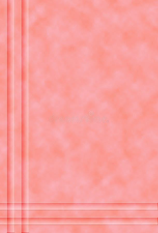 Gevormde roze achtergrond royalty-vrije stock fotografie