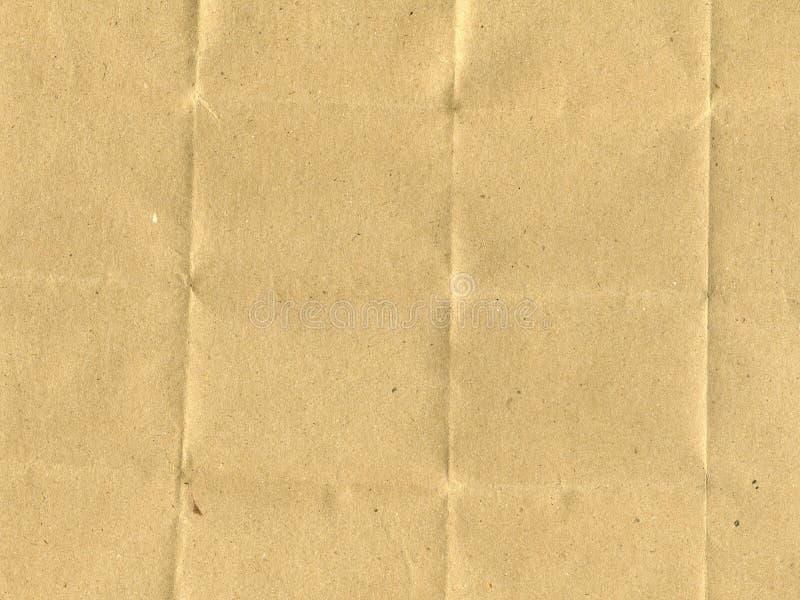Gevouwen document stock afbeeldingen