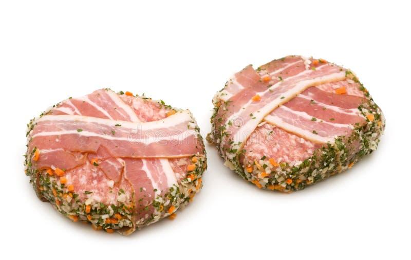 Gevulde het broodje van het varkensvlees stock afbeeldingen