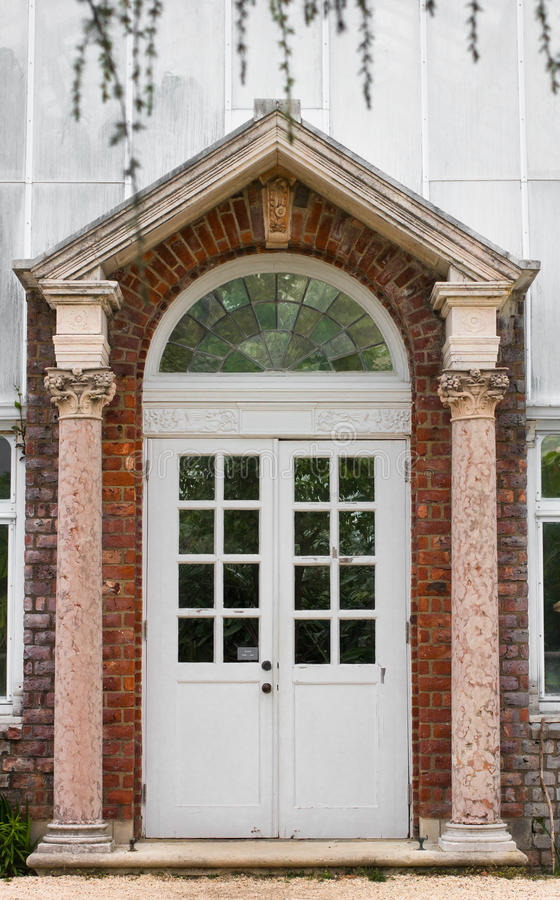 Gewächshaus-Tür lizenzfreie stockfotografie