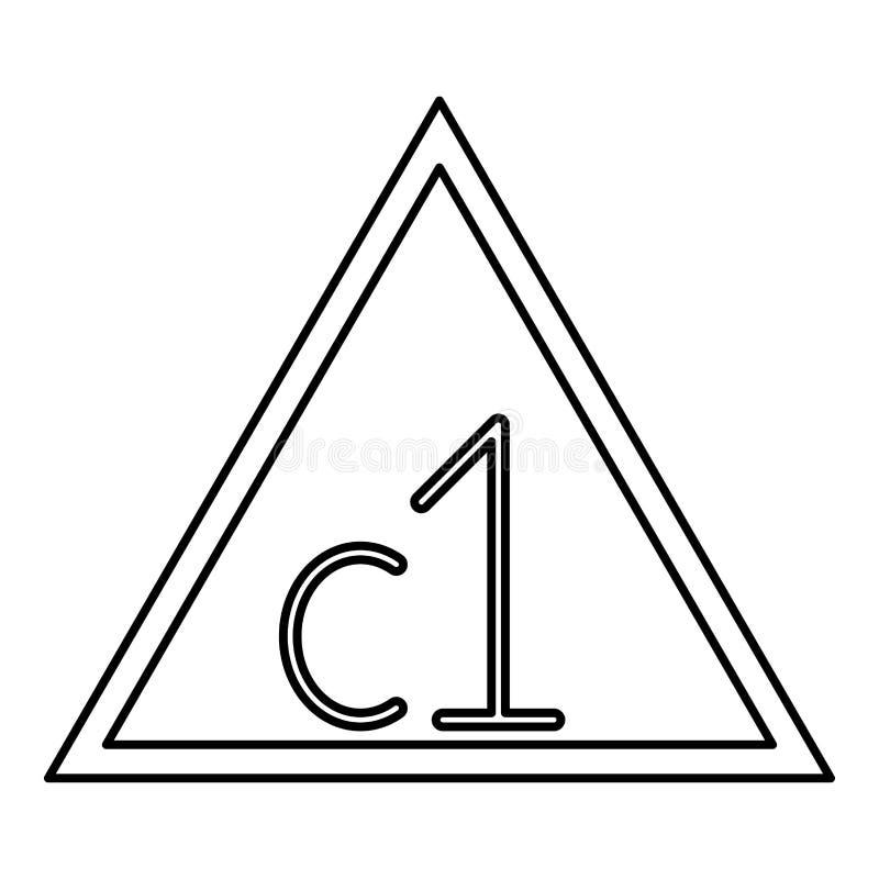 Gewährt werden Sie die Dose weiß, die mit Chlor Kleidung geblichen wird, sich interessieren die Symbole, die schwarzen Vektor des lizenzfreie abbildung