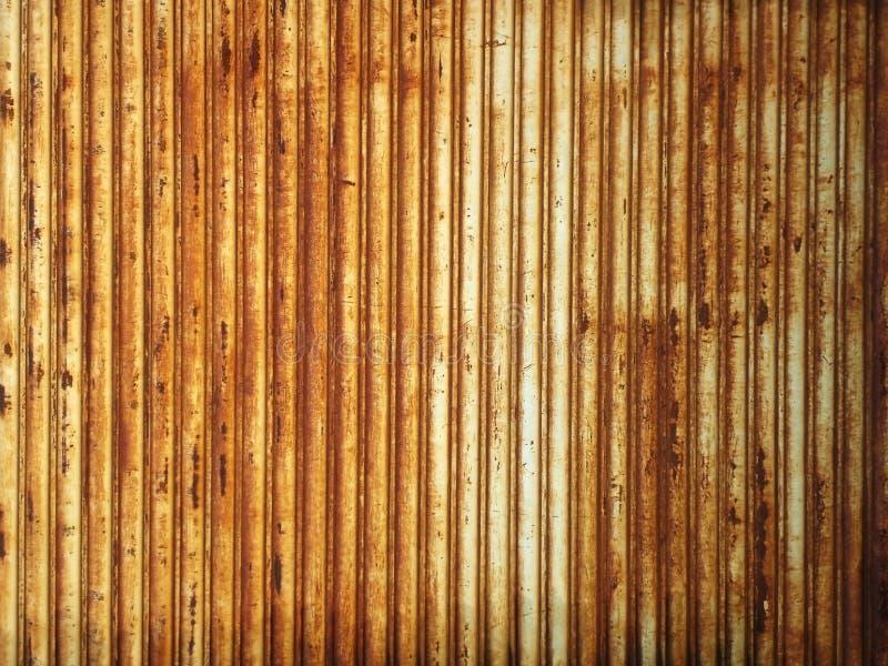 Gewölbte Metallwand stockbilder