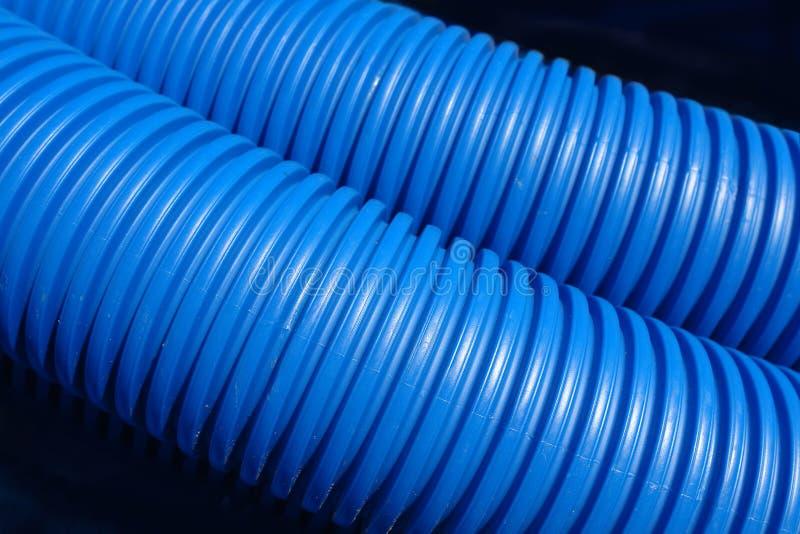Gewölbte Plastikrohre lizenzfreies stockfoto