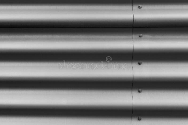 Gewölbter Metallbeschaffenheitshintergrund lizenzfreie stockbilder
