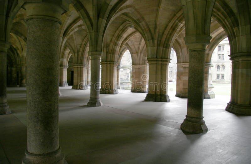 Gewölbtes Kloster stockfotos