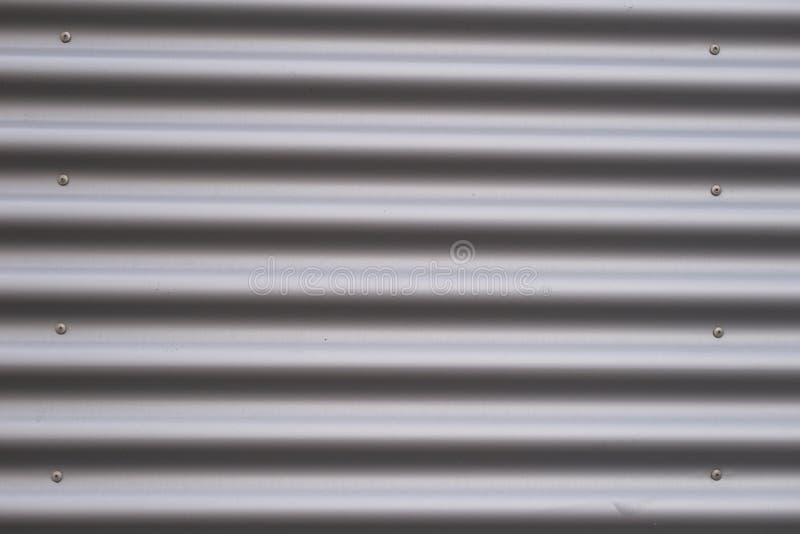 Gewölbtes Metall stockfoto