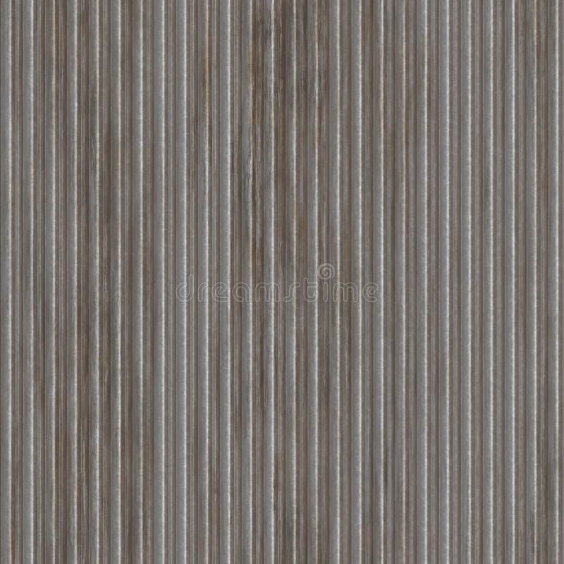 Gewölbtes Metall lizenzfreie abbildung