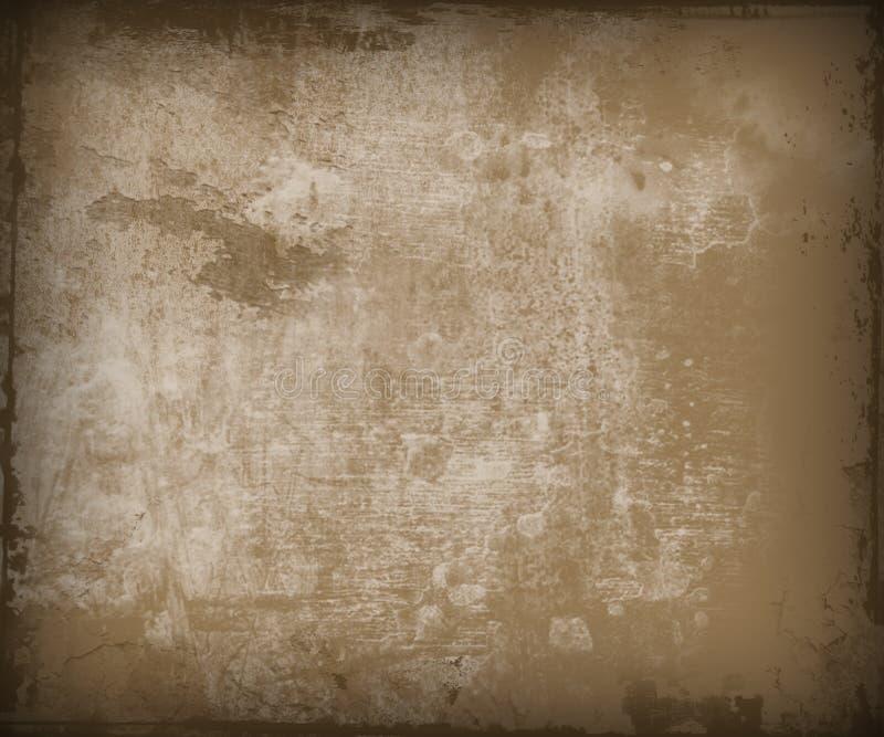 Gewachsene grunge Wand stock abbildung