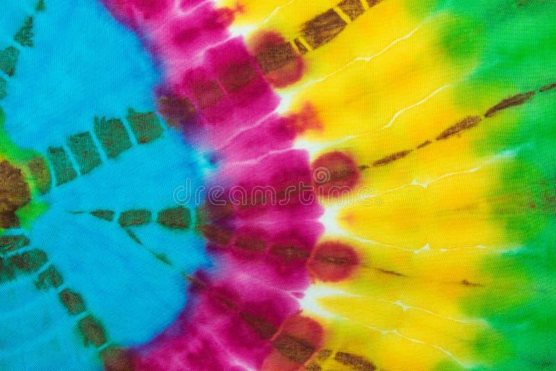 Gewebe-Bindungs-Färbungs-Farbbeschaffenheits-Hintergrund stockfotografie