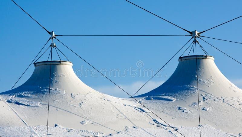 Gewebe-Dach-Spannkraft-Struktur lizenzfreies stockfoto