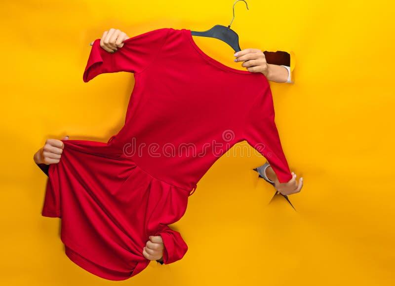 Gewebe, Design, Kleidung, Modekonzept lizenzfreies stockfoto
