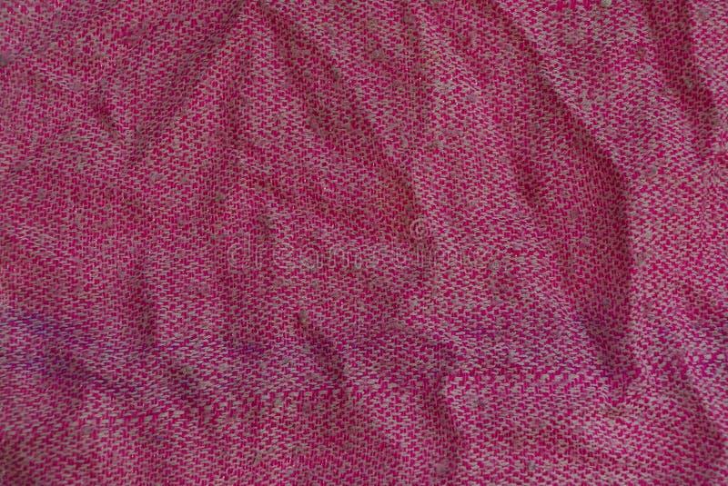 Gewebebeschaffenheit vom alten woolen Stoff stockfotos
