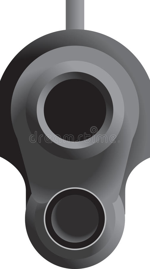 Gewehr-Faß stock abbildung