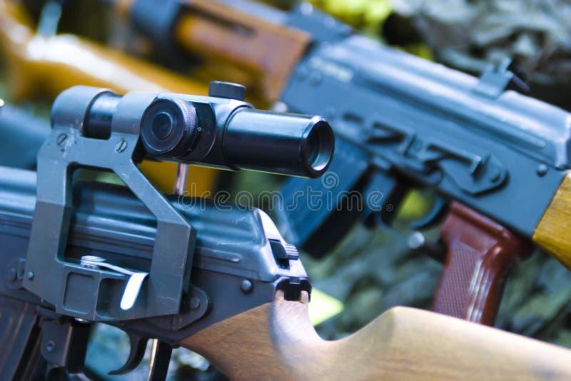 Gewehrbereich   lizenzfreie stockfotos