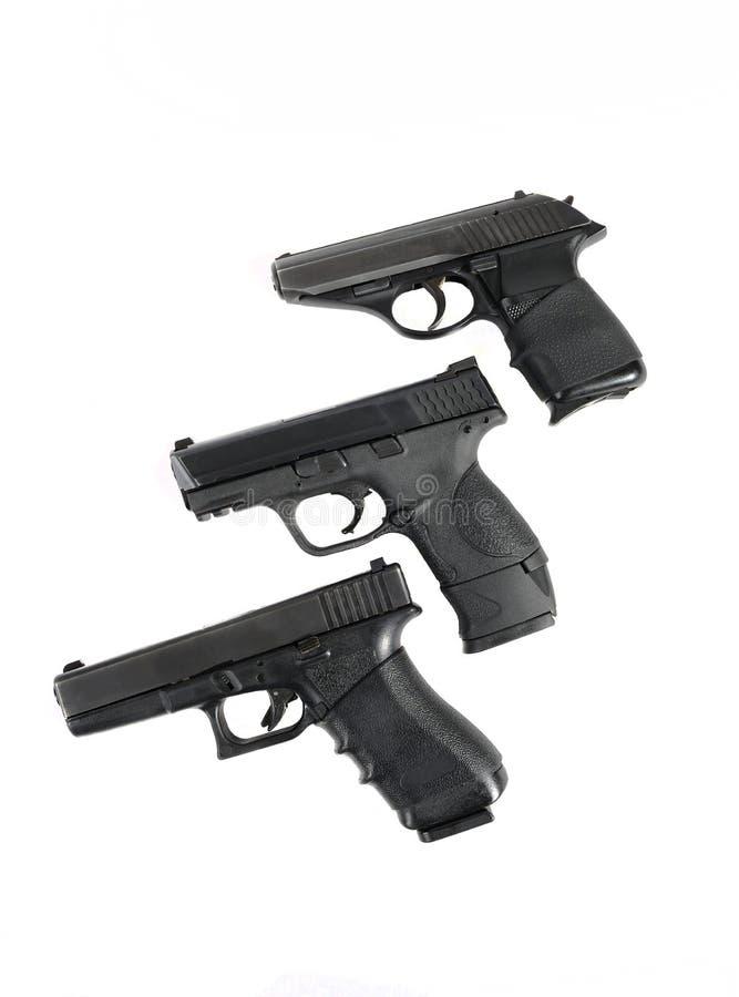3 Gewehre stockfotografie