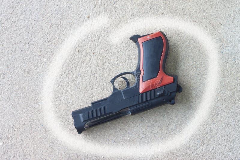 Gewehre benutzt für die Ursache lizenzfreies stockbild