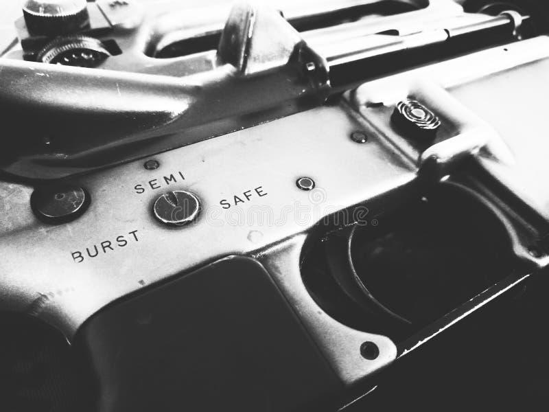 Gewehre der Soldaten lizenzfreie stockfotos