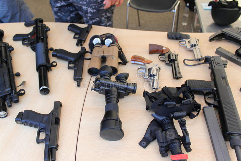 Gewehren lizenzfreies stockbild