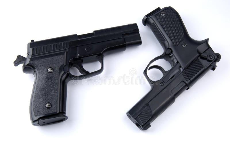 Gewehren lizenzfreie stockfotos