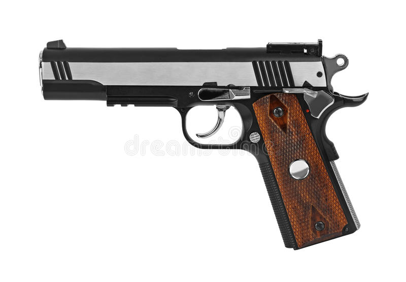 Gewehrpistole stockbilder