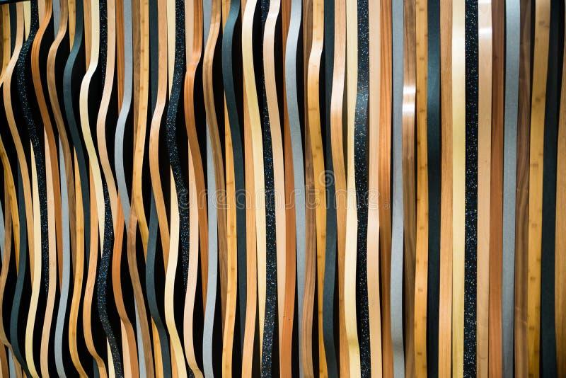 Gewellte abstrakte Streifen lizenzfreie stockfotos