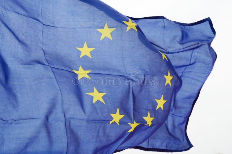 Gewellte EU kennzeichnen lizenzfreie stockbilder