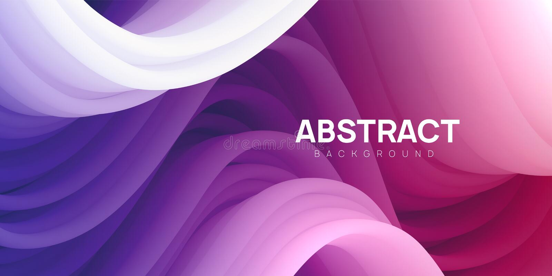 Gewellter und bunter abstrakter Hintergrund im Rosa, purpurrote Farben stockfotos