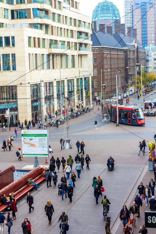 Gewerbegebiet von Den Haag lizenzfreies stockfoto