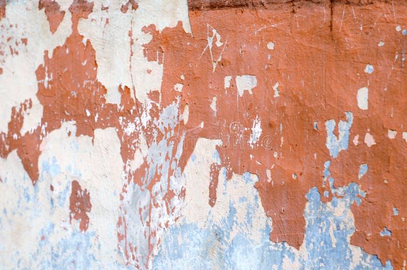 Geweven achtergrond, Grunge-muur van het oude huis stock foto