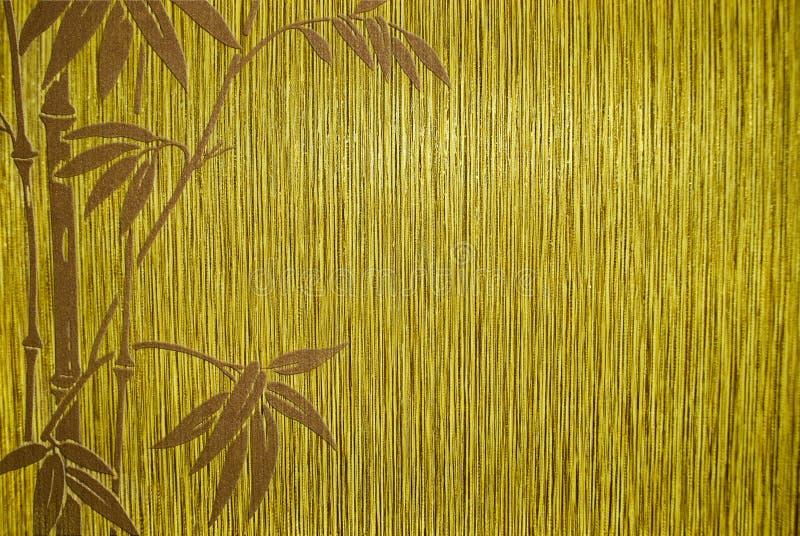 Geweven bamboe royalty-vrije illustratie