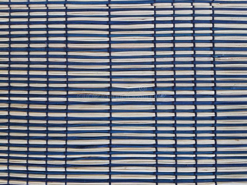 Geweven bamboeachtergrond stock afbeelding