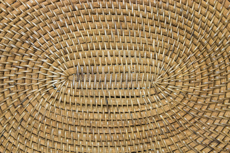 Geweven bamboeclose-up stock foto's