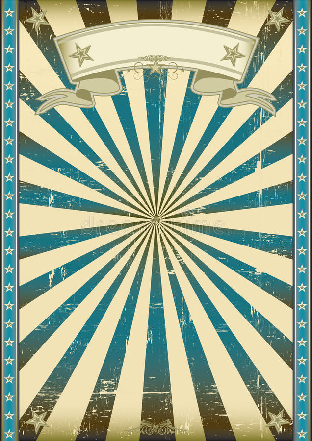 Geweven blauwe retro achtergrond royalty-vrije illustratie