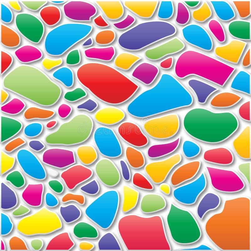 geweven en kleuren! stock foto
