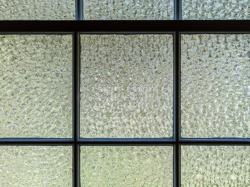 Geweven-glasruiten stock foto