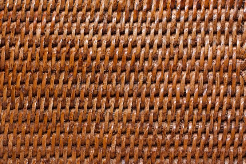 geweven houten achtergrond royalty-vrije stock afbeelding