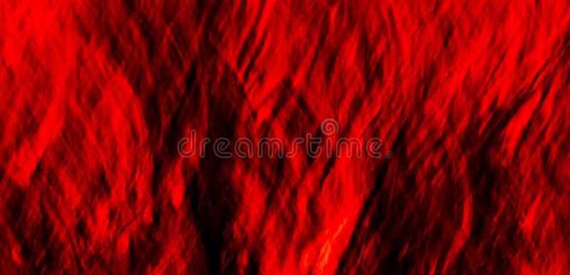 Geweven Rode Abstracte #8 stock fotografie