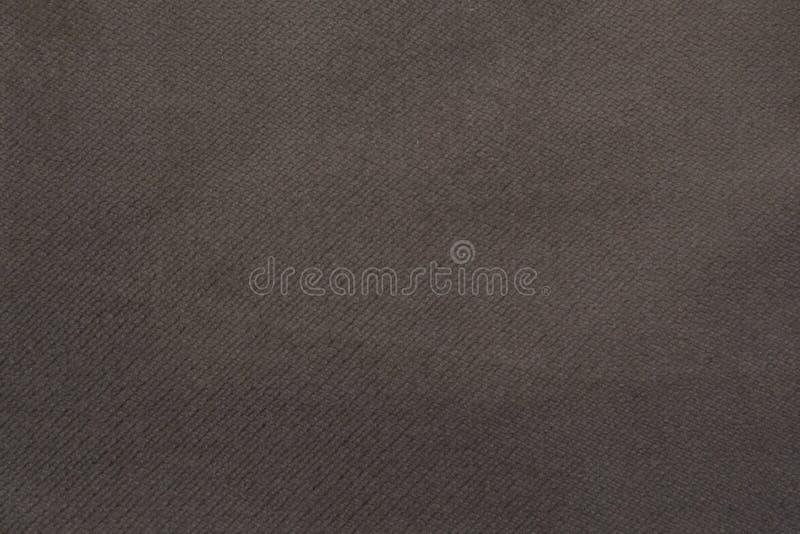 Geweven stoffenachtergrond Structuur van grijze stof shaving Creatieve uitstekende achtergrond royalty-vrije stock afbeelding