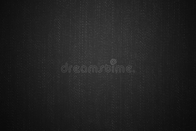 Geweven stoffenjeans Donkere textuur als achtergrond Spatie voor ontwerp royalty-vrije stock fotografie