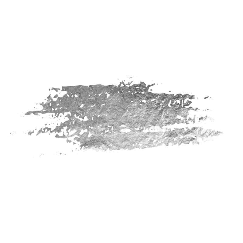 Geweven zilveren vlek royalty-vrije illustratie