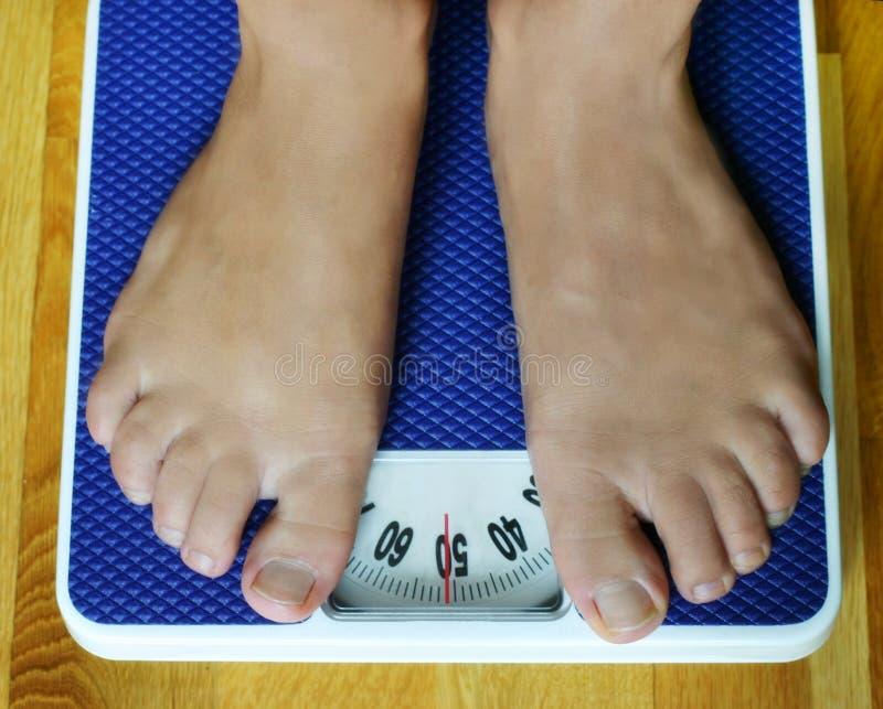 Gewicht stockfoto