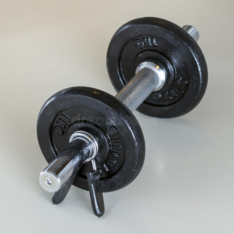 Gewicht dumbells royalty-vrije stock afbeelding