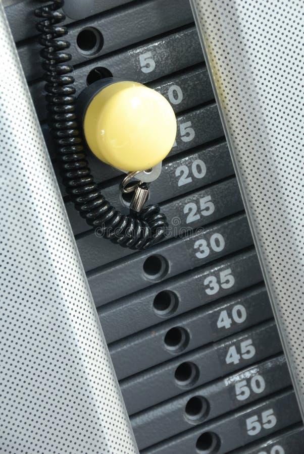 Gewicht-Maschine stockfotos
