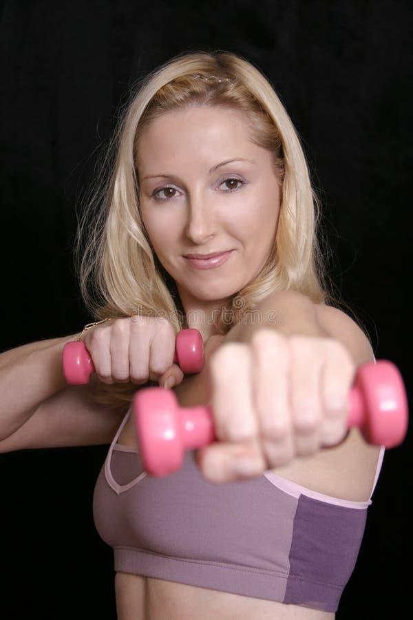 Gewicht-Training lizenzfreie stockbilder