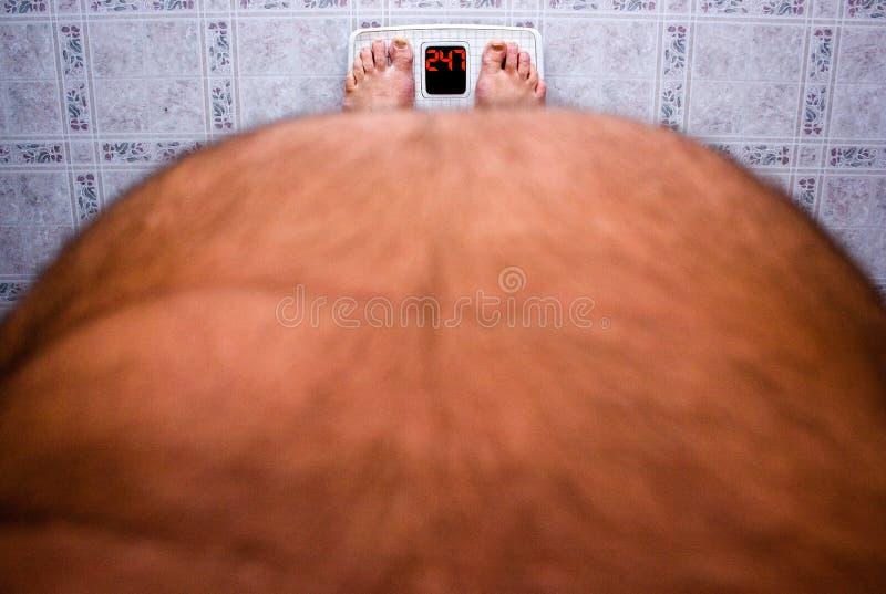 Gewicht-Verlust lizenzfreie stockfotografie
