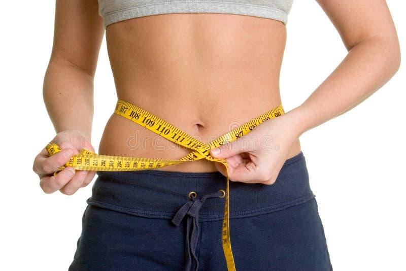 Gewicht-Verlust-Frau lizenzfreie stockfotografie