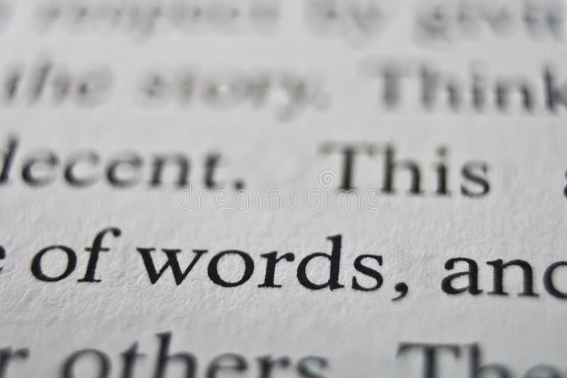 Gewicht Wörter lizenzfreies stockfoto