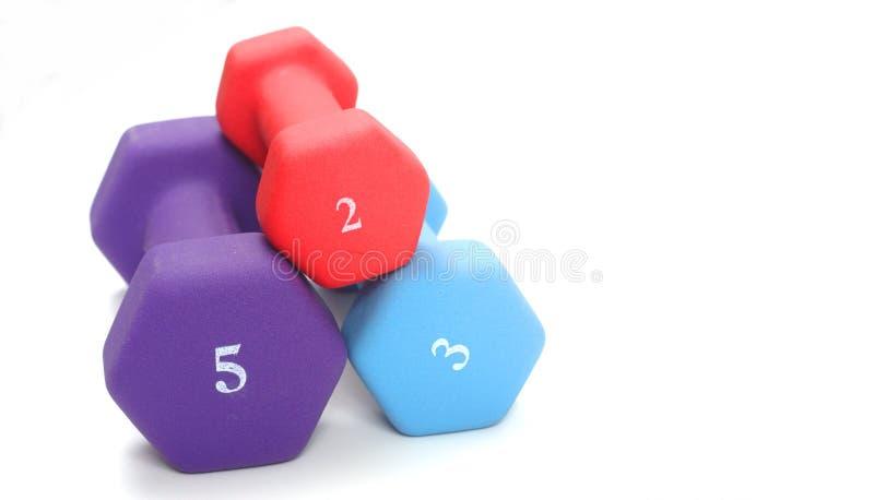 Gewichte stockfotos