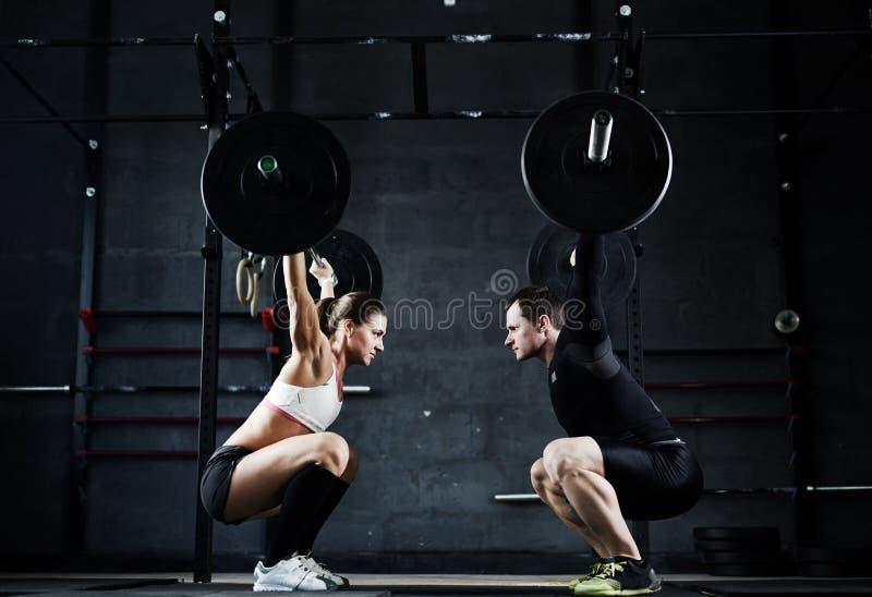 Gewichthebenmeister lizenzfreies stockbild